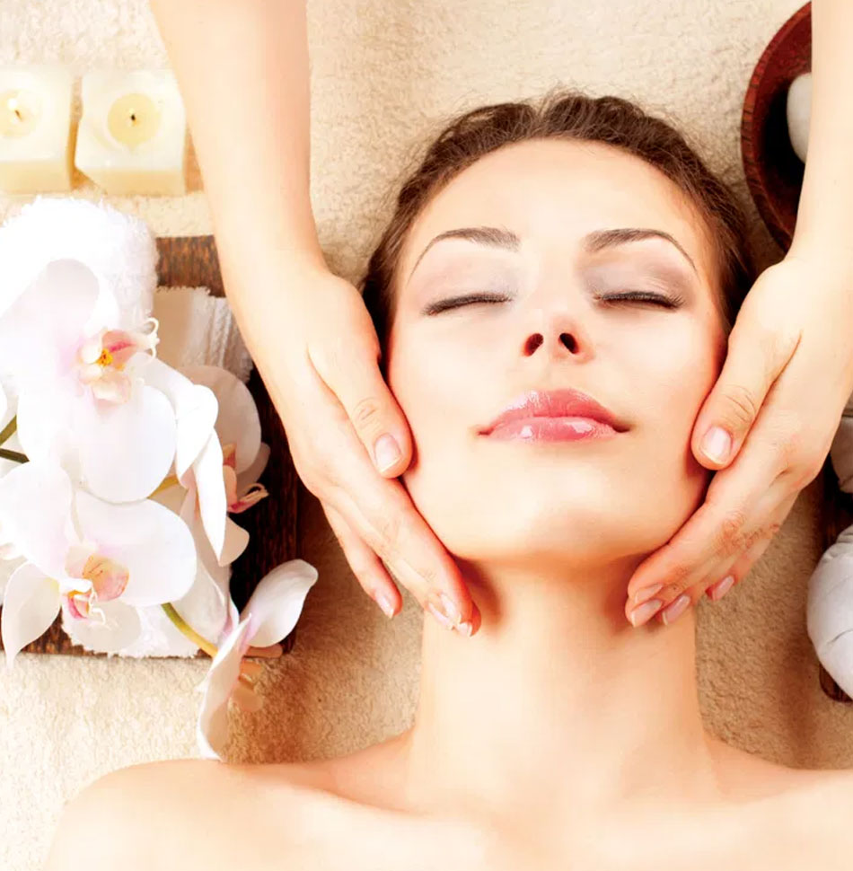 massage face procedure spa Восстановление за 30 минут