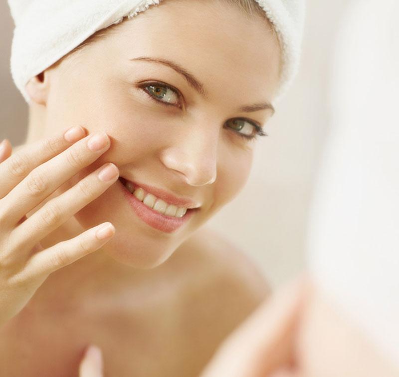 procedure spa cleansing exfoliating face nature skin Cleansing & Exfoliating