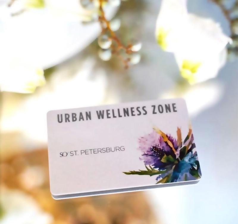 urban spa sertificate card gift procedures 09 2020 Подарочный сертификат